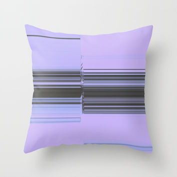 Okay Stretch Throw Pillow by duckyb