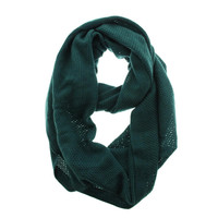 Collection Eighteen Womens Solid Decorative Loop Scarf