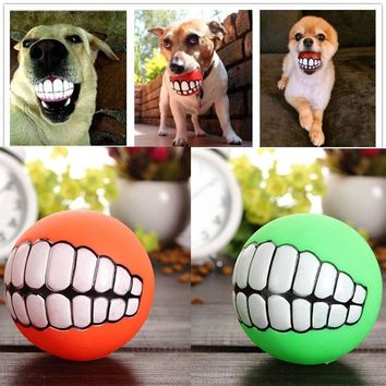 Puppy Cat Ball Teeth Toy