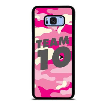JAKE PAUL TEAM 10 CAMO Samsung Galaxy S8 Plus Case Cover