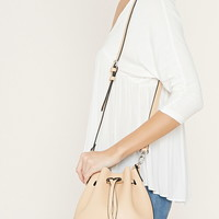 Faux Leather Bucket Bag | Forever 21 - 1000176251