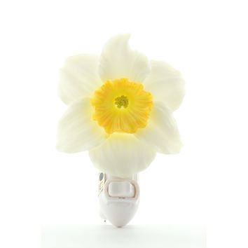 Daffodil Night Light Night Light, Ibis & Orchid Nightlights, NIB, 50170