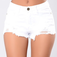 Moonlight Shorts - White