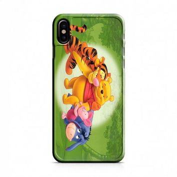 Winnie The Pooh (anime) iPhone X Case