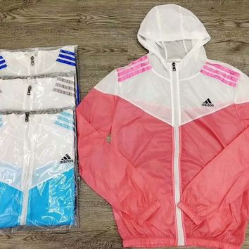 Adidas summer color sun protection jacket