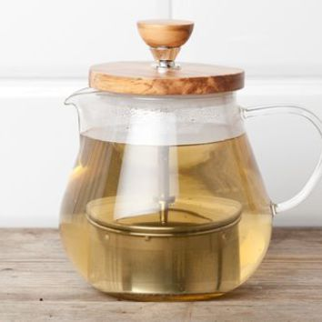Loose Leaf Glass Teapot With Infuser