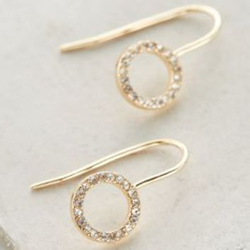 Periphery Drops by Anthropologie in Gold Size: One Size Earrings