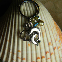 Pearl Of The Sea Dolphin Ring