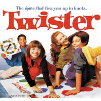Twister Moves Mat Board Game