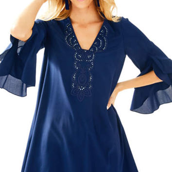 Tatiana Stretch Silk Tunic Dress | 27761 | Lilly Pulitzer