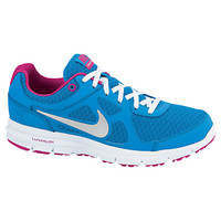 Buy Nike Lunar Forever Women's Cushioned Running Shoes, Blue Glow/White/Fireberry online at JohnLewis.com