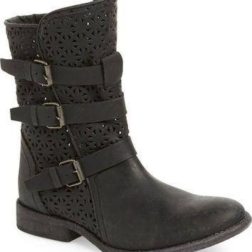 Matisse 'National' Perforated Moto Boot (Women) | Nordstrom