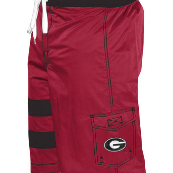 NCAA Georgia Bulldogs G-III Mens Board Shorts