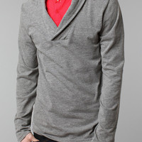 Urban Outfitters - BDG Knit Shawl Pullover Shirt