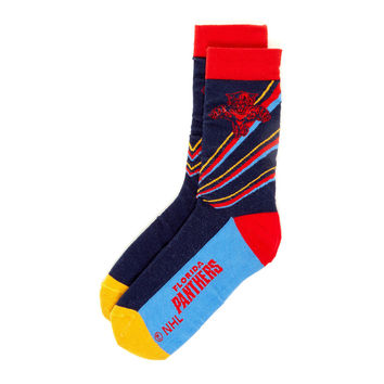 Florida Panthers NHL Stylish Socks (1 Pair) (S-M)