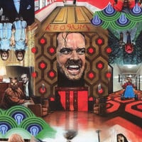 The Shining Paul Stone Movie Art Poster 24x36