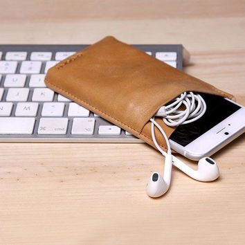 Genuine Leather Iphone Sleeve