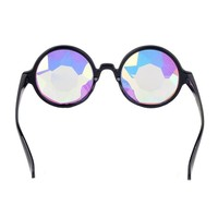 DODOING Amazon Prime Deals, Festivals Kaleidoscope Glasses for Raves - Goggles Rainbow Prism Diffraction Crystal Lenses