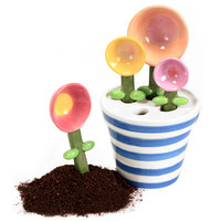 FLOWER POT MEASURING SPOONS
