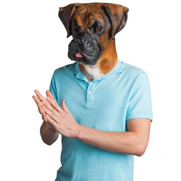 Barry The Boxer Realistic Dog Mask