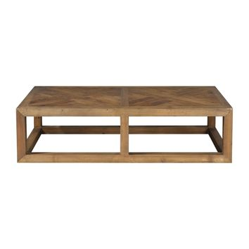 Wyatt Wooden Coffee Table