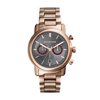 MICHAEL KORS WATCH  MEN MENS PENNANT STAINLESS STEEL MK8370