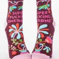 Super Fucking Awesome Women's Socks