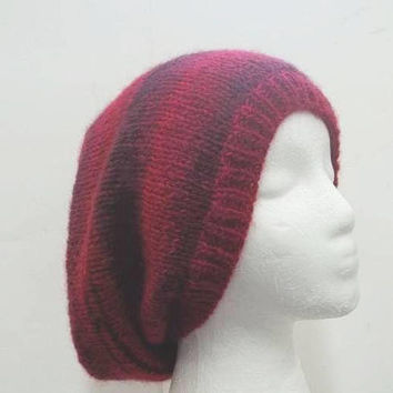 Slouchy beanie colorful hat size large  5325