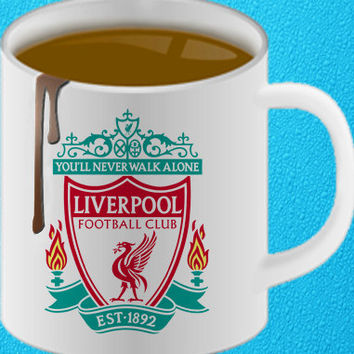 you'll never walk alone liverpool funny coffee heppy coffee.