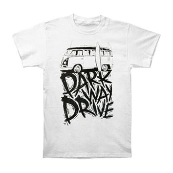Parkway Drive Men's  Kombi Slim Fit T-shirt White