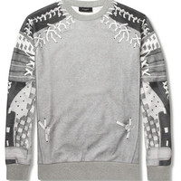 Givenchy Baseball-Print Jersey Sweatshirt | MR PORTER