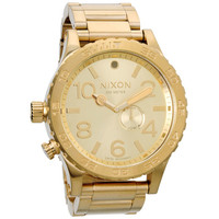 Nixon The 51-30 Tide Watch All Gold One Size For Men 16613362101