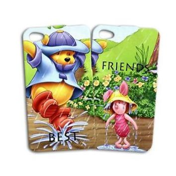Disney Winnie the Pooh Piglet Best Friend iPod Case iPhone 4 4s 5 5s 5c 6 + Cute