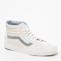 Vans Cali Collection SK8-Hi Leather Nubuck Shoes - Mens Shoes - White/White - 11