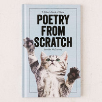 Poetry From Scratch: A Kittens Book Of Verse By Jennifer McCartney - Urban Outfitters