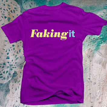 Faking It logo shirt