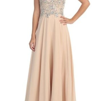Special Order Formal--Strapless, Long, Embellished Top (2 Colors)