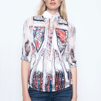 Picadilly Custom Print Top