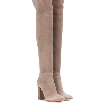Exclusive to mytheresa.com – Over-the-knee suede boots