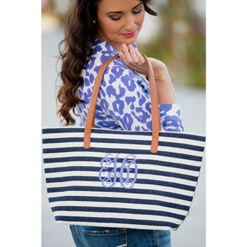 Striped Charlene Totes