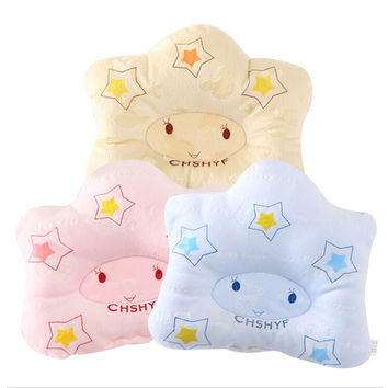Top Selling Lovely Newborn Baby Pillows Infant Baby Support Cushion Pillow Comfortable Baby Pillow Beby Bedding VT0123 Salebags