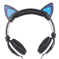 Led Cat Ears Headphone