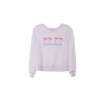 Wildfox Girls Lazy Pullover Shirt