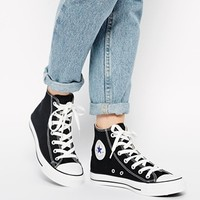 Converse All Star High Top Black Trainers