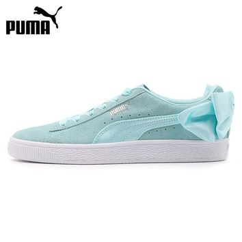 Original New Arrival 2018 PUMA Suede Bow Wns Women's Skateboarding Shoes Sneakers