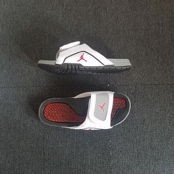 Air Jordan Hydro IV Velcro Slide Sandals Slippers - Best Deal Online