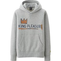 MEN SPRZ NY SWEAT LONG SLEEVE HOODIE (JEAN-MICHEL BASQUIAT) | UNIQLO