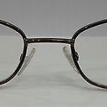 NEW AUTHENTIC GIORGIO ARMANI GA 386 COL LLA BRONZE METAL EYEGLASSES FRAME 49MM