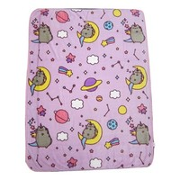 "Pusheen the Cat 60"" x 48"" Plush Throw Blankets - Walmart.com"