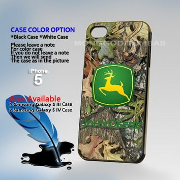 JOhn deere cemo, Photo Hard Plastic iPhone 5 Case Cover